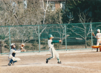 少年野球写真